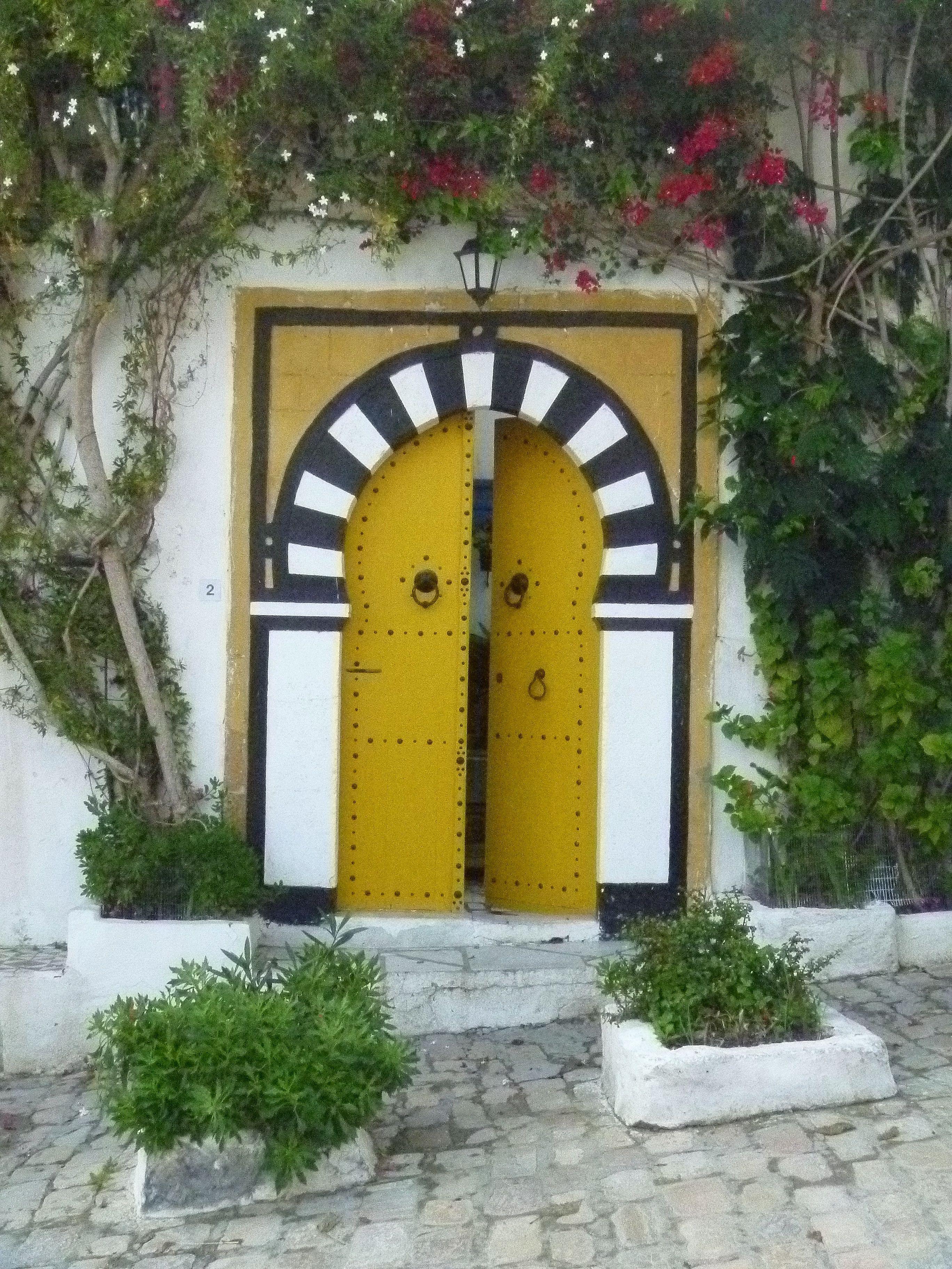 Ma tunisie petite plan te for Decoration porte sidi bou said